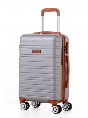 Valise cabine Sirrah silver