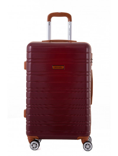 Valise grande taille Sirrah Rouge